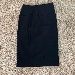 Express Design Studio Black Pencil Skirt Size 0